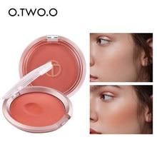 O.TWO.O bouncy blush maquiagem leve cremoso rosto blush natural rouge bochecha pêssego contorno para rosto cosméticos