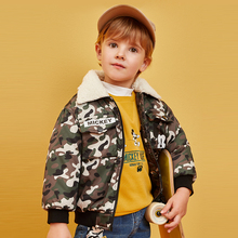 Disney Childrens Top New Baby Cotton Jacket Autumn and Winter Boy Clothing Clothes Girls Coat
