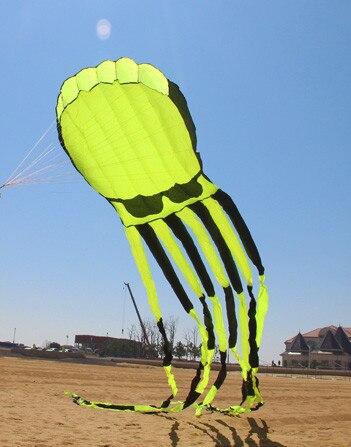 Nouvelle arrivée 3D haute qualité 10M puissance poulpe cerfs-volants bon volant cerf-volant FESTIVAL