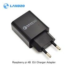Последние Raspberry pi 4B 5V 3A EU зарядное устройство USB зарядное устройство для дома зарядное устройство для путешествий