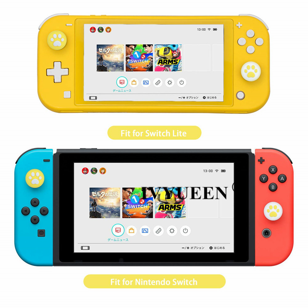 for Nintend switch lite joycon joy con analog thumb stick grip caps 10