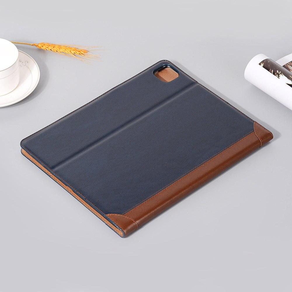 Case Smart for iPad Pro PU i Pad for Case iPad Book Fold 9 Leather 12 2018 Folio 2020