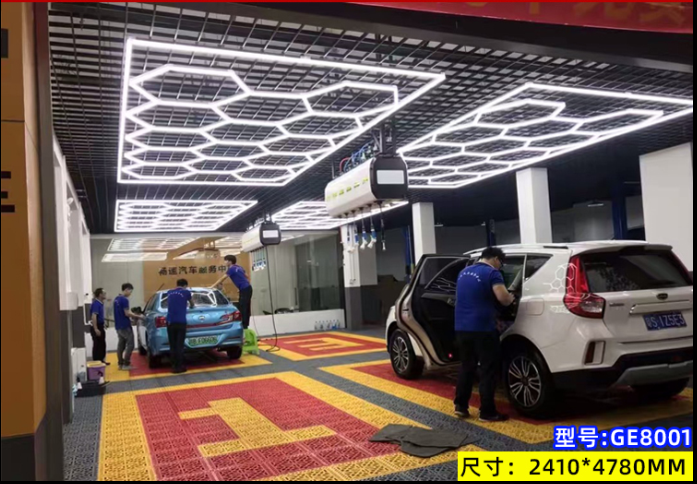 Car Wash Bay Lighting Led Light Bar Work Linkable Led Linear Light Tube DIY For Car Beauty Shop