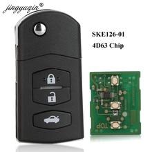 Jingyuqin 2 botón llave inteligente para control remoto de coche para NISSAN Qashqai X-Trail de entrada sin llave controlador Continontal PULSAR 433,92 MHz 4A Chip