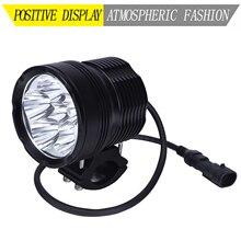 LDDCZENGHUITEC 60 Вт мотоциклетный головной светильник 7200LM U3 светодиодный вспомогательный точечный головной светильник с высокой/низкой скоростью стробоскопа