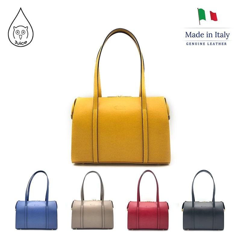 JUICE 2020 Spring,made In Italy, Genuine Leather Bag, Women Bag,Women Handbag,Shoulder Bags,112218