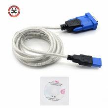 RS232 dönüştürücü Z-TEK USB1.1 To RS232 dönüştürücü konektörü Z-TEK USB Z TEK USB1.1 To Rs232 kablosu HDS/MB c3/NEC programcı vb.