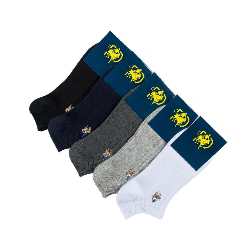 2020 новые мужские летние носки двойные хлопковые короткие для