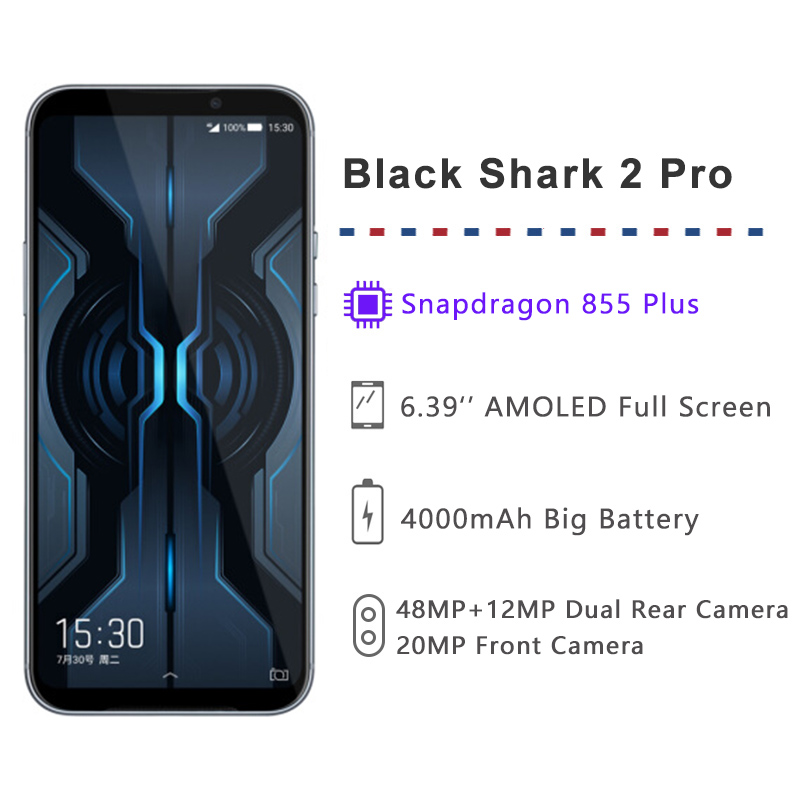 Xiaomi Black Shark 2 Pro 12GB 256GB Gaming Mobile Phone Snapdragon 855 Plus 6.39