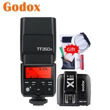 Godox mini tt350o TT350 O 2.4g ttl gn36 hss flash câmera speedlight X1T O transmissor gatilho para panasonic olympus lumix