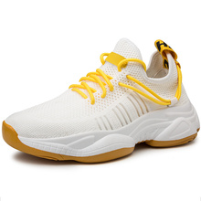 Running Shoes For Men Comfortable Sneakers Breathable Mesh Outdoor Sport Shoes Men Increase  Lace Up Male  Jogging Shoes цена