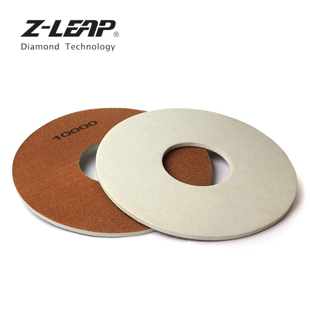 Z-LEAP 17 pouces 1PC éponge diamant tampon de polissage marbre granit béton sol polissage roues de nettoyage utilisation humide disque de ponçage