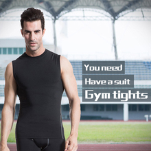 2 Piece Mens Compression Fitness Tight Running Set Quick Dry Vest Gym Sport Suit T-Shirt+Shorts Sportswear Men Top Tracksuit