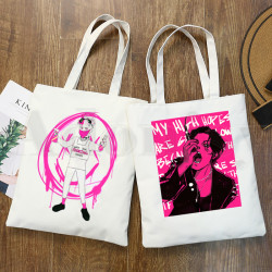 Yungblud Dominic Harrison Graphic Cartoon Print Shopping Bags Girls Fashion Casual Pacakge Hand Bag