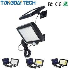 56 светодиодный светильник на солнечной батарее, уличный водонепроницаемый IP65 PIR датчик движения, солнечный садовый светильник, настенный светильник с инфракрасным датчиком, светильник
