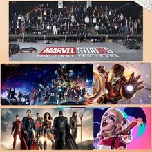 DC Mouse pad Avengers Infinity War anime Gaming Grande mouse gamer Keyboard Mat Thanos Iron Man Captain America Toys