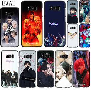 EWAU Bigbang G-Dragon Silicone phone case for Samsung S6 S7 Edge S8 S9 S10 plus S10e Note 8 9 10 M10 20 30 40(China)