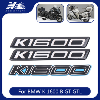 For BMW K 1600 B GT GTL Motorcycle Trunk Luggage Aluminum Case Side Panel Tank Pad 3D Stickers Decal Protector Fairing Emblem image