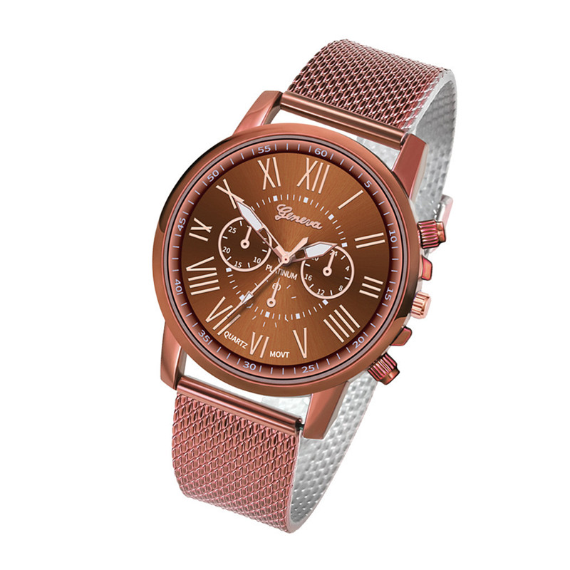 Luxury women Quartz Wrist Watch Temperament lady Watch Stainless Steel Dial Casual Bracele Watches relogio feminino A4 H43637d377a2045bd9cd8defa33fc95c6G