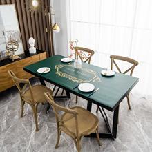 Кожаный деревянный защитный коврик для стола вечерние Чехлы