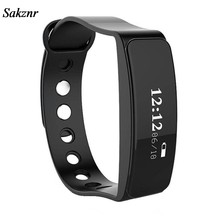 SAKZNR Watch Women Heart Rate Monitor Bluetooth Wrist Smart Watch Men Bracelet W23 For Android Tracker Smartband Wrist Watch(China)