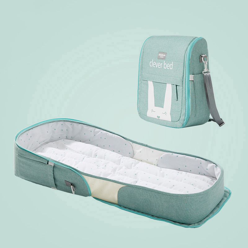 Portable Bed, Anti-pressure Baby Crib Can Be Folded And Moved To Bed With Newborn Son.