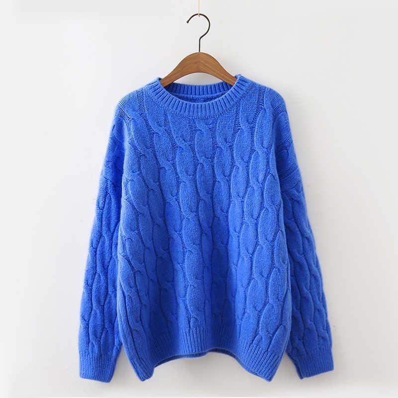 Surmiitro Casual Koreanische Gestrickte Winter Pullover Frauen 2019 Herbst Damen Langarm Trikot Jumper Und Pullover Weibliche Jersey