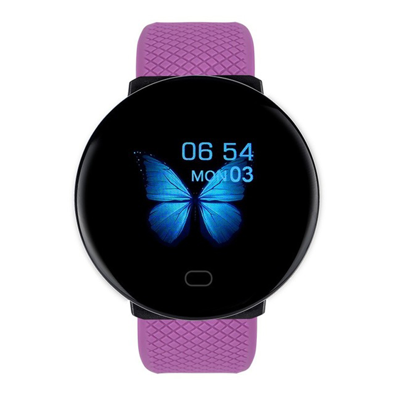 Bakeey 119 Plus 1.3' <font><b>OLED</b></font> Screen HR Blood Pressure O2 Monitor Multiple UI Long Standby bluetooth Sport Smart Watch for Women Men image