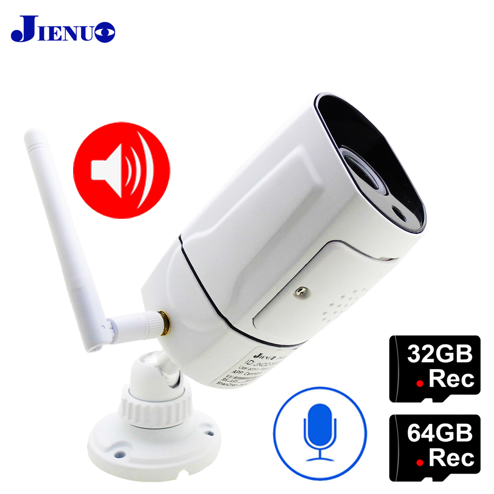 Ip Camera 1080P WIfi 64G HD Outdoor waterproof IPCam Cctv Security Surveillance Two way Audio Cam Infrared Wireless Home Camera