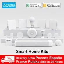 Xiaomi Aqara Smart Home kit Gateway Hub M1S interruttore a parete per fotocamera lampada porta sensore di temperatura di movimento relè telecomando Mihome