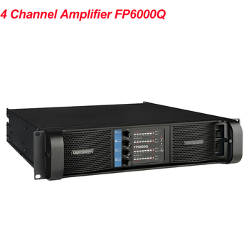 2020 Lab Gruppen Professional Popular High Performance FP6000Q Line Array Switch Amplifier 4x700Watts 4 Channel PA Speakers