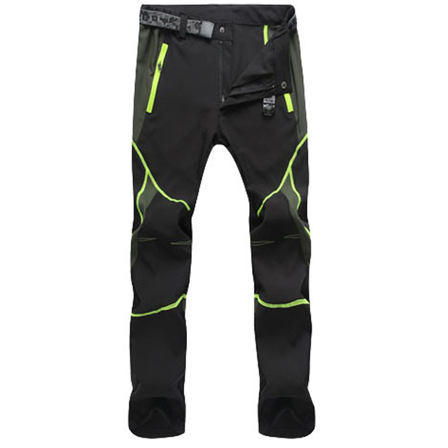 Summer Hiking Pants for Men Quick Drying Outdoor Workwear Men Clothing Color Stitching Climbing Pantalon Windproof Men's Pants 1