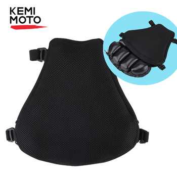 KEMiMOTO Universal Motorcycle Air Pad Seat Cushion Cover L XL Size For Cruiser For R1200GS F800GS MT07 MT09 For CBR600 For Z650
