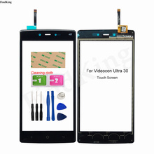 Mobile Touch Screen For Videocon Ultra 30 Touch Screen Digitizer Touch Panel Front Glass Lens Sensor Tools