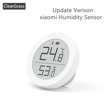 Youpin Qingping Digital Bluetooth Thermometer and Hygrometer Electronic Ink Screen 30 Days Data Automatic Recording By home app - discount item  21% OFF Smart Electronics