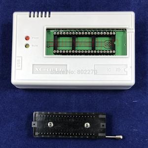 Image 3 - Black Edition V10.27 XGecu TL866II Plus USB Programmer  15000+IC SPI Flash NAND EEPROM MCU PIC AVR+ 23PCS ADAPTER+SOIC8 Testclip