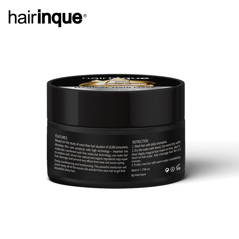 Hot Sale Magical Treatment Mask fast Repairs Damage Restore Soft Hair Keratin Hair Scalp Treatment for All Hair Types TSLM1