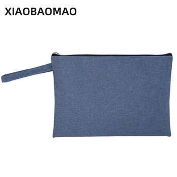 XIAOBAOMAO Oxford cloth file organizer  file folder a4 documents file bag document bag Business office school xiaobaomao a4 commercial business document bag tote file folder filing meeting bags pocket office bags pocket large capacity