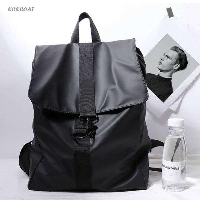 Мужской рюкзак для путешествий, водонепроницаемый вместительный повседневный рюкзак для ноутбука, сумка для компьютера, школьный рюкзак, женский маленький рюкзак