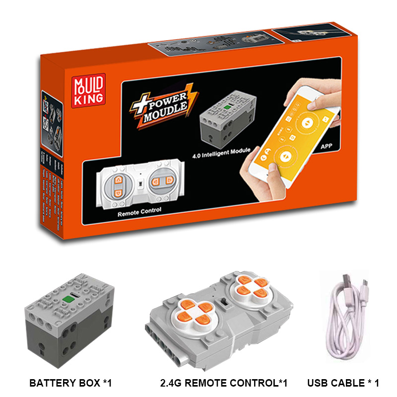 APP RC Motor <font><b>Compatible</b></font> LepinBlocks Technic <font><b>Car</b></font> Train Remote Control <font><b>Battery</b></font> Box Power Function 20086 20001 42056 Spare part image