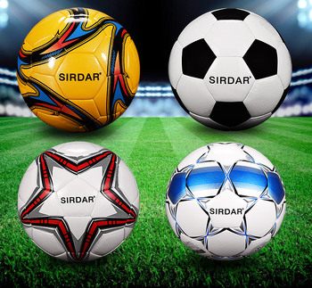 SIRDAR Football Pu Size 5 Customize Ball Training Logo Soccer Games Pcs Color Sporting football ball image