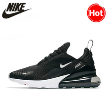 Nike AIR MAX 270 Unisex Running Shoes Black Non-slip Wear-resisting Lightweight