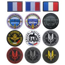 GIGN Patch Badge Tactical-Patches RAID Sewing France Special-Force Military Emboridery