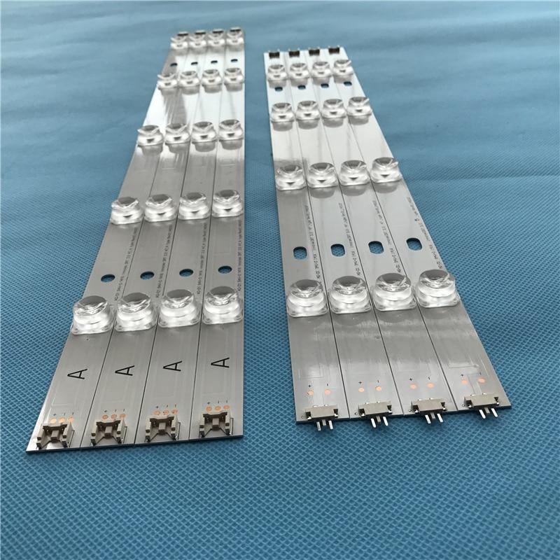 980mm LED Backlight Strip 9 Lamp For LG 47 Inch TV Innotek DRT 3.0 LG47lb5610 6916L 1715A 1716A LG47LY340C LG47GB651C