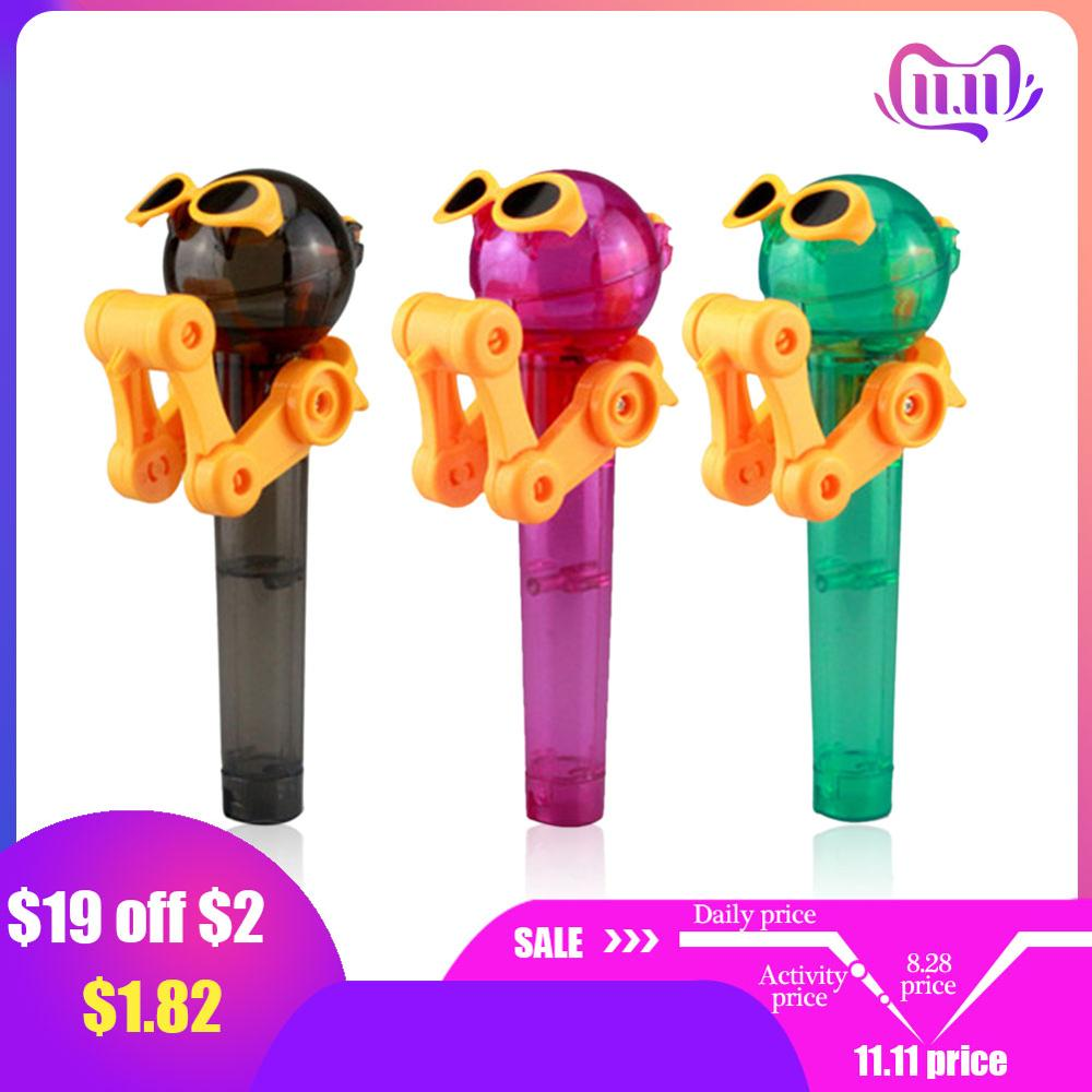 Lowest Price In History Latest Creative Personality Toy Lollipop Holder Decompression Toy Lollipop Robot Decompression Candy Toy