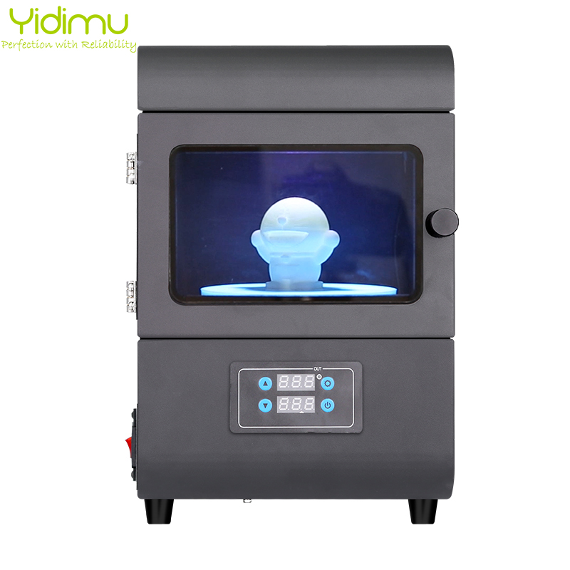 New Arrival 405nm UV Wavelength LED Rotating Curing Box New Desktop 3D Resin UV Rotating Curing Machine For 3D Printer Resin title=