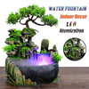 Resin Crafts Tabletop Feng Shui Decor Rockery Landscape Water Fountains Home Decoration Indoor Fountain Zen Garden 1