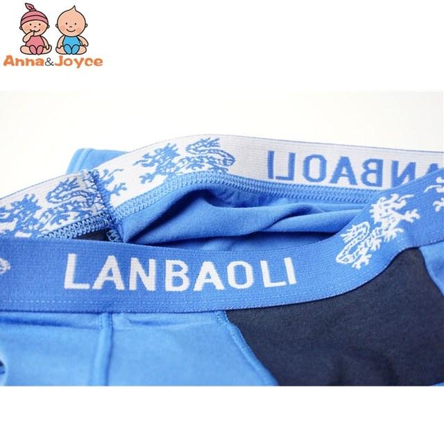3pc Boys Cartoon Printing Cotton Briefs Children's Underwear Soft Comfortable Three Yards 3 To 12years 6