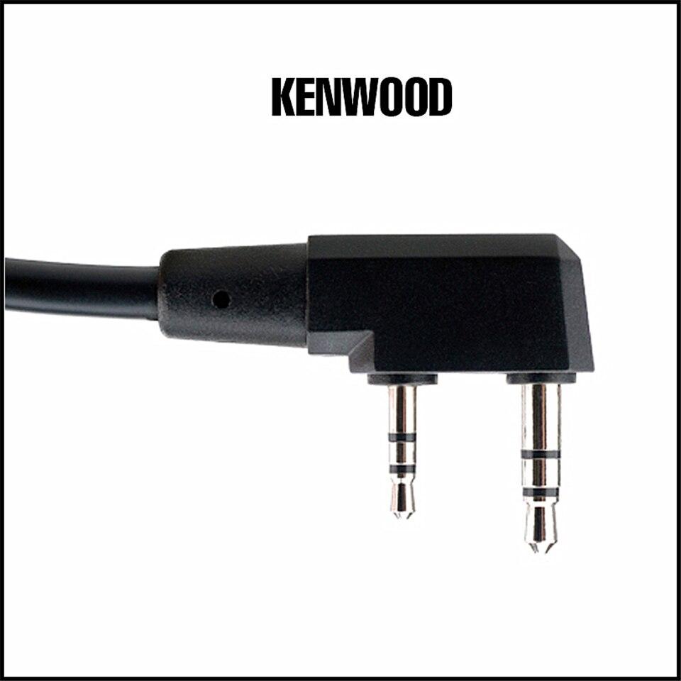 PTT Kenwood PTT Fone De Ouvido Fones