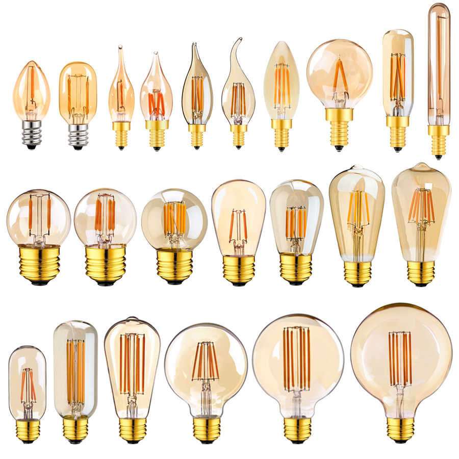 4 Packs Equivalent to 30W E26 Basic Spiral LED Filament Suitable for Desk Lamps Dimmable T30 LED Bulb Warm White 2200K LED Tubular Edison Bulb 3W Tubular Retro LED Bulb